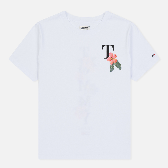 Женская футболка Tommy Jeans Summer Back Graphic Classic White