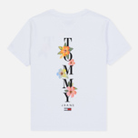 Женская футболка Tommy Jeans Summer Back Graphic Classic White фото- 1