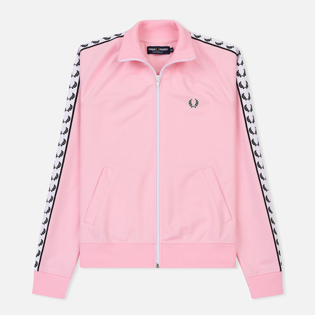 Женская олимпийка Fred Perry Sports Authentic Taped Track Pink