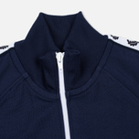Женская олимпийка Fred Perry Laurel Wreath Tape Carbon Blue фото- 1