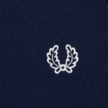 Женская олимпийка Fred Perry Laurel Wreath Tape Track Carbon Blue фото- 3