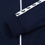 Женская олимпийка Fred Perry Laurel Wreath Tape Track Carbon Blue фото- 4
