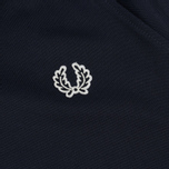 Женская олимпийка Fred Perry Sports Authentic Taped Track Carbon Blue фото- 4