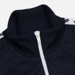 Женская олимпийка Fred Perry Sports Authentic Taped Track Carbon Blue фото- 2