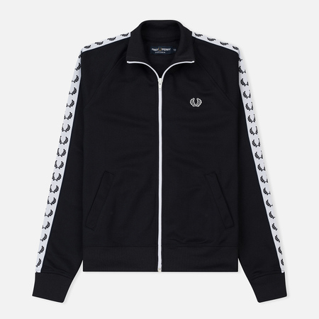 Женская олимпийка Fred Perry Sports Authentic Taped Track Navy