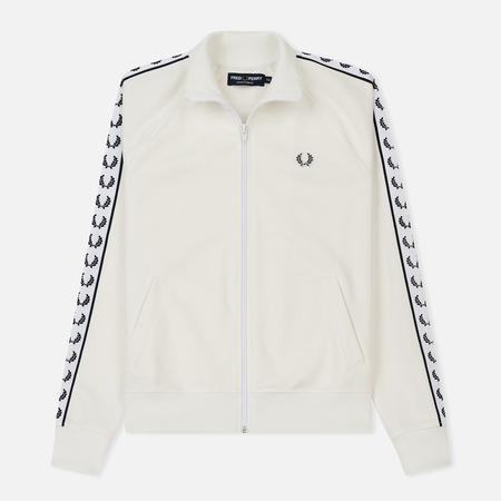 Женская олимпийка Fred Perry Sports Authentic Taped Track Snow White