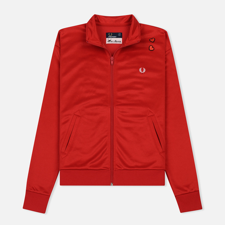 Женская олимпийка Fred Perry x Amy Winehouse Embroidered 50's-style Lipstick Red