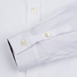 Aquascutum Bowten Club Check Trim Women's Shirt White photo- 2