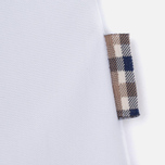 Aquascutum Bowten Club Check Trim Women's Shirt White photo- 3