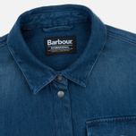 Женская рубашка Barbour International Enduro Surf Blue фото- 1
