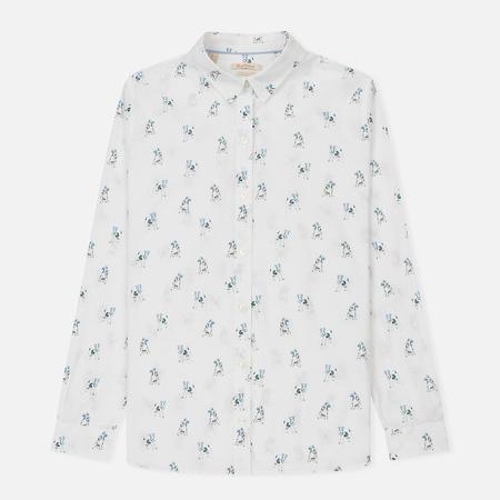 Женская рубашка Barbour Moorfoot White/Blue