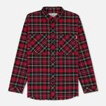 Женская рубашка Carhartt WIP W' Mia L/S Mia Check/Blast Red фото- 0