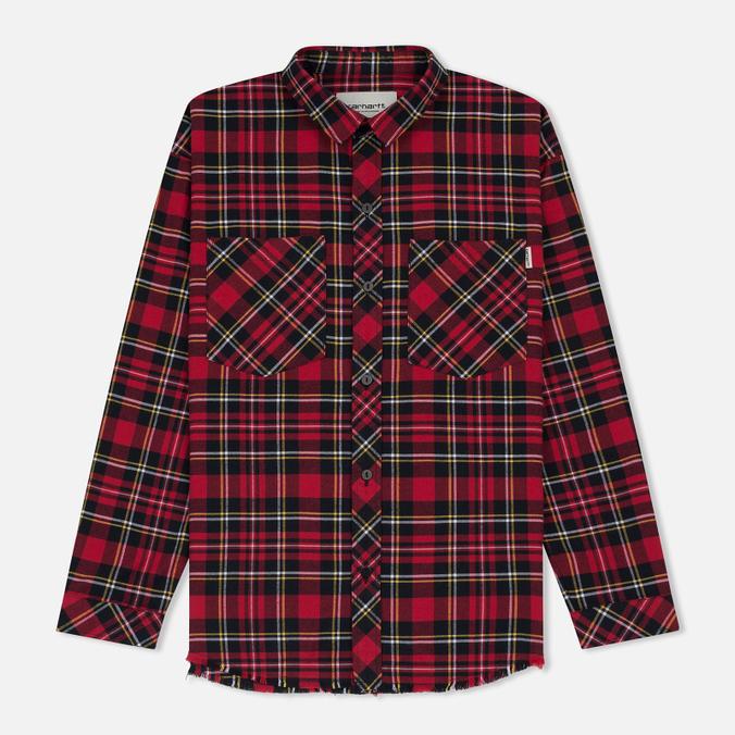 Женская рубашка Carhartt WIP W' Mia L/S Mia Check/Blast Red