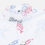 Женская рубашка Carhartt WIP W' S/S Roby Scribble Print/White фото- 1