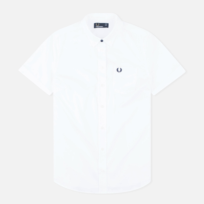 Женская рубашка Fred Perry Classic Oxford SS White