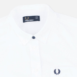Fred Perry Classic Oxford SS Women's Shirt White photo- 1