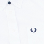 Fred Perry Classic Oxford SS Women's Shirt White photo- 2