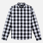 Fred Perry Gingham Women's Shirt Black photo- 0