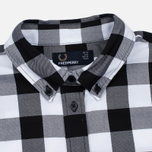 Fred Perry Gingham Women's Shirt Black photo- 1