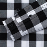 Fred Perry Gingham Women's Shirt Black photo- 3