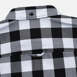 Fred Perry Gingham Women's Shirt Black photo- 6