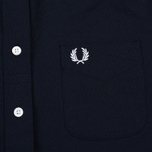 Женская рубашка Fred Perry Oxford Navy фото- 1