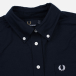 Женская рубашка Fred Perry Oxford Navy фото- 2