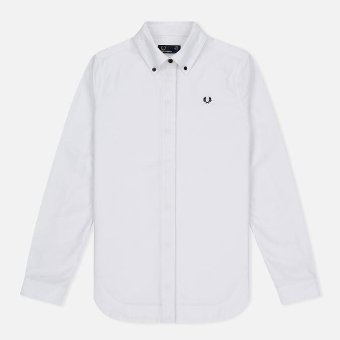 Женская рубашка Fred Perry Oxford Parka White