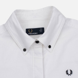 Женская рубашка Fred Perry Oxford Parka White фото- 1