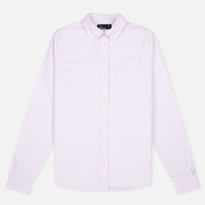 Женская рубашка Fred Perry Oxford Soft Pink