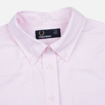 Женская рубашка Fred Perry Oxford Soft Pink фото- 1