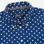 Женская рубашка Fred Perry Polka Dot LS Medieval Blue фото- 1