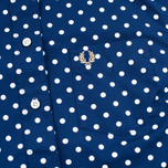 Женская рубашка Fred Perry Polka Dot LS Medieval Blue фото- 2