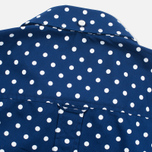 Женская рубашка Fred Perry Polka Dot LS Medieval Blue фото- 4