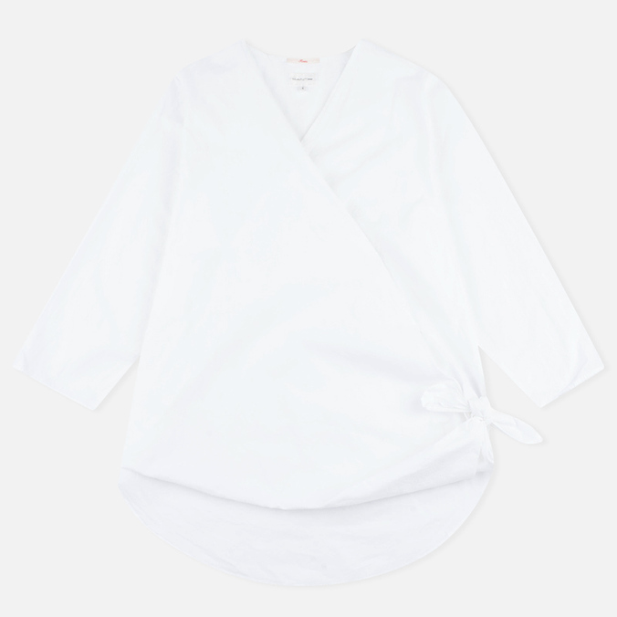 Женская рубашка Gant Rugger Knotted White