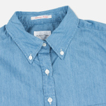 Женская рубашка Gant Rugger Luxury Light Indigo фото- 1