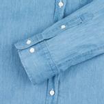 Женская рубашка Gant Rugger Luxury Light Indigo фото- 3