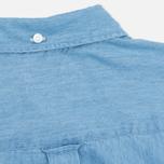Женская рубашка Gant Rugger Luxury Light Indigo фото- 5