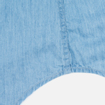 Женская рубашка Gant Rugger Luxury Light Indigo фото- 4