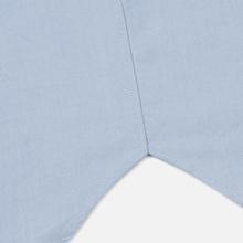 Женская рубашка Maison Kitsune Oxford Tricolor Fox Patch Classic Light Blue фото- 4