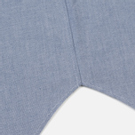 Женская рубашка Maison Kitsune Oxford Tricolor Fox Patch Classic Navy фото- 4