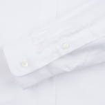 Женская рубашка Maison Kitsune Oxford Tricolor Patch White фото- 3