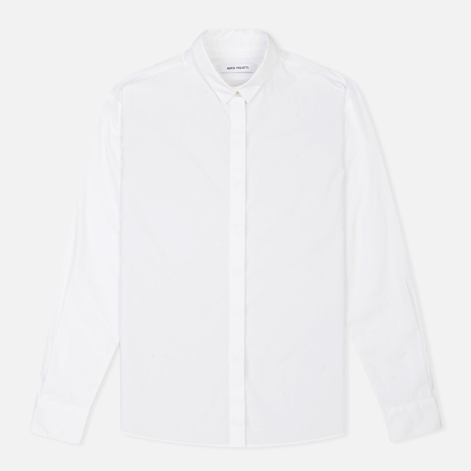 Женская рубашка Norse Projects Agnak Boxfit White