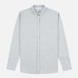 Женская рубашка Norse Projects Elva Oxford Light Grey Melange фото- 0