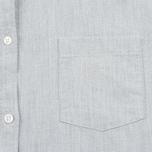 Женская рубашка Norse Projects Elva Oxford Light Grey Melange фото- 2