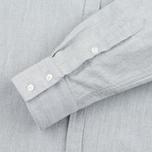 Женская рубашка Norse Projects Elva Oxford Light Grey Melange фото- 3