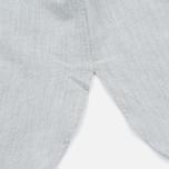 Женская рубашка Norse Projects Elva Oxford Light Grey Melange фото- 4