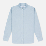 Женская рубашка Norse Projects Elva Oxford Pale Blue Melange фото- 0