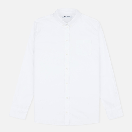 Norse Projects Elva Oxford Women's Shirt White