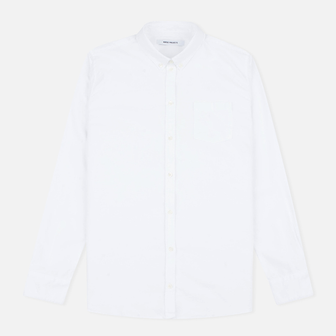 Женская рубашка Norse Projects Elva Oxford White